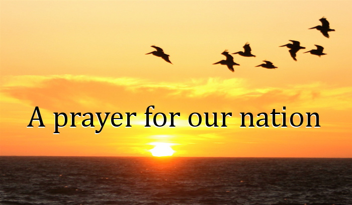 54 02 01-04 A prayer for our nation